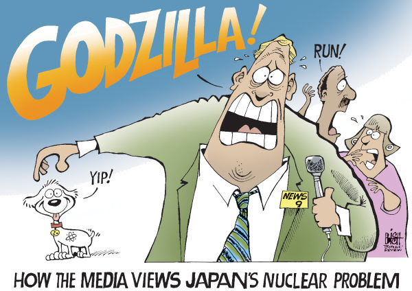 Image result for nuclear energy cartoons