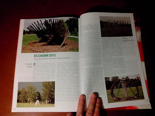 Ecoismi 2012 su Arte Contemporanea by Ylbert Durishti