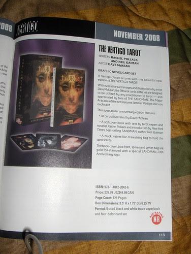 New edition of the Vertigo Tarot