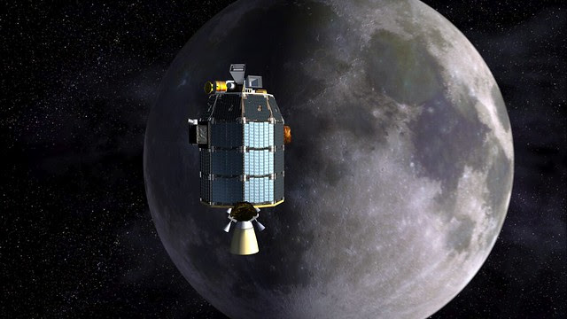 LADEE approaches lunar orbit