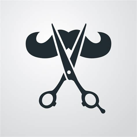 designs    clean   barber shop logo