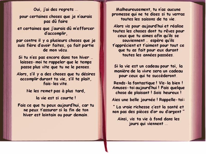Texte Anniversaire Amie Touchant