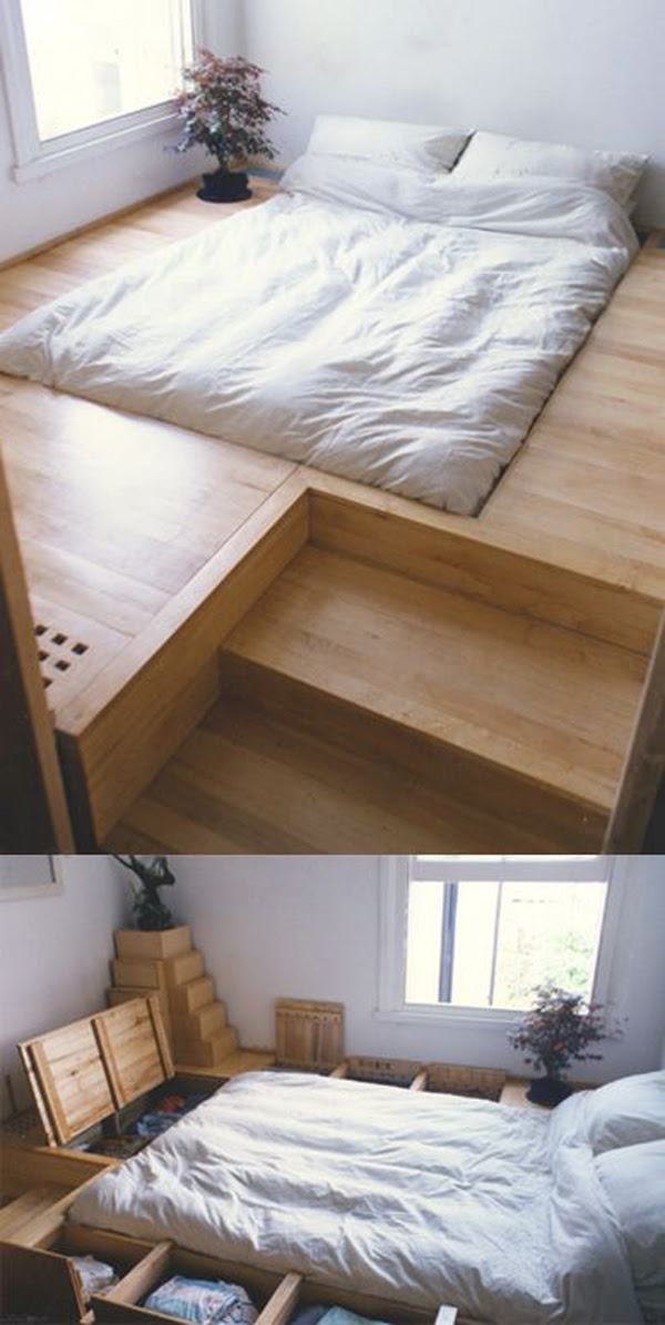 10 Smart Floor Storage Ideas for Small Space Solutions ...