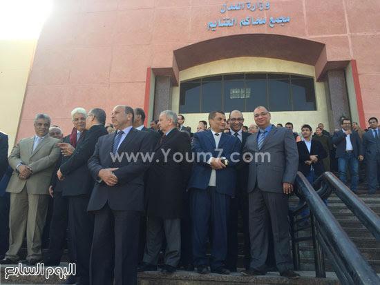 الزند يفتتح مجمع محاكم الغنايم (2)