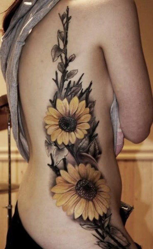 Sunflower Tattoos