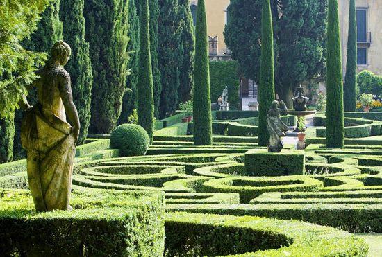 Giardino Giusti, Verona, Italia