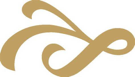 fileribbon ornament gold left downpng wikimedia commons