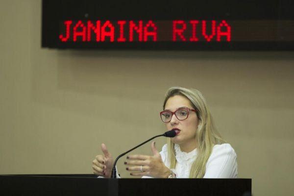 Janaina Riva pede a vice-governador para expulsá-la do partido; processo é segunda opção