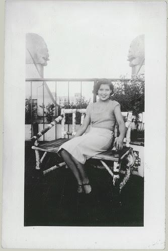 Girl on a balcony