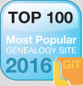 Check out the Top 100 Genealogy Websites of 2016