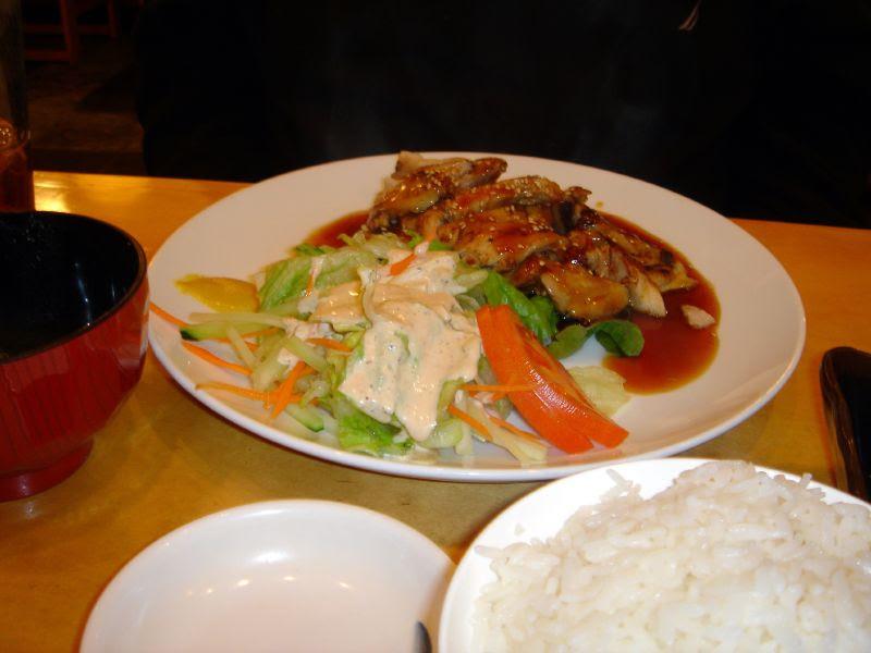 Grilled chicken Teriyaki & Salad