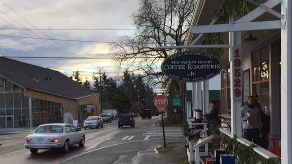 Vashon Island, with about 10,000 residents, takes pride in its small-town atmosphere.