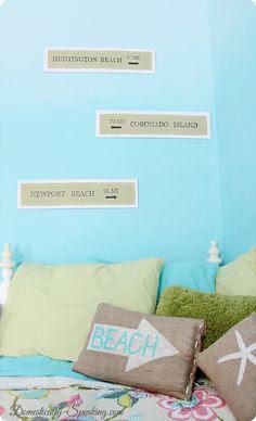 Surfer Girl Room Inspiration
