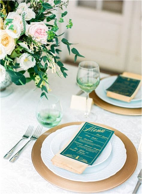 Plum and Emerald Wedding Ideas   Bride Link