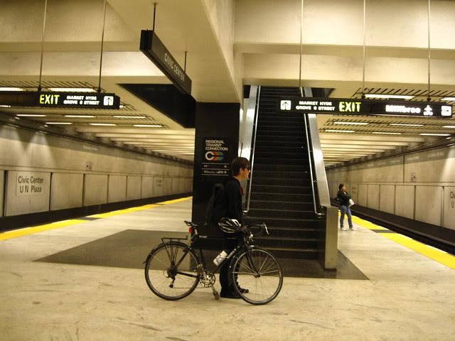Boy. Bike. Bart