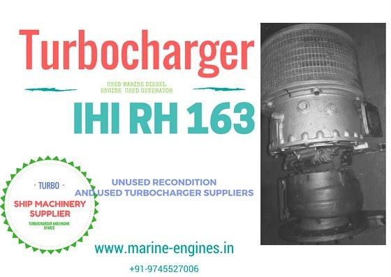 Turbocharger RH 163 for Sale
