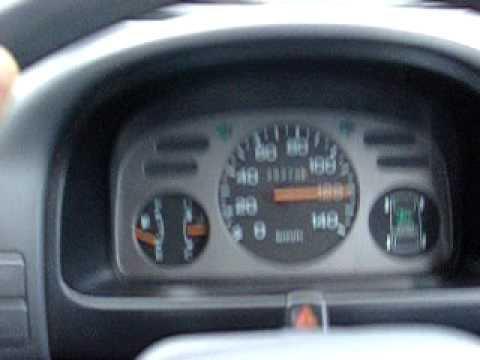 1992 KV4 Subaru sambar supercharged 4x4 mini truck test driving in japan.
