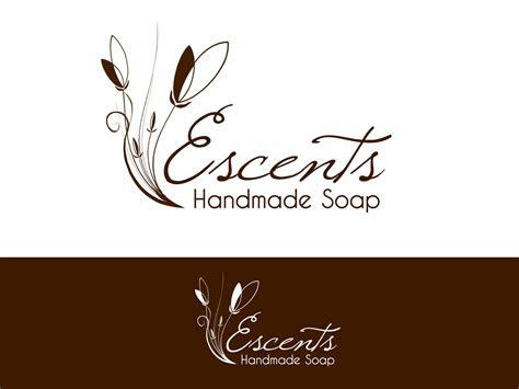feminine elegant  company logo design  escents