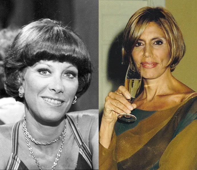 Ilka Soares e Mila Moreira interpretaram Marilu, uma mulher esnobe, fútil e fofoqueira, que sabe da vida de todo mundo. Seu sonho é se tornar figura de destaque na sociedade.  (Foto: Cedoc / TV Globo)