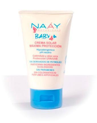 naay botanicals baby, crema de protección solar, todobionatural, productos naturales, solo yo, belleza, hogar, salud,, cosmetica