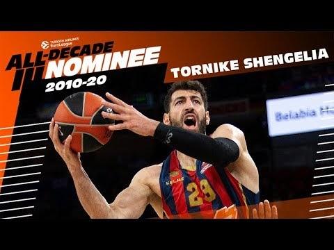 Грузинский баскетболист Торнике Шенгелия номинирован на включение в символическую команду десятилетия Евролиги