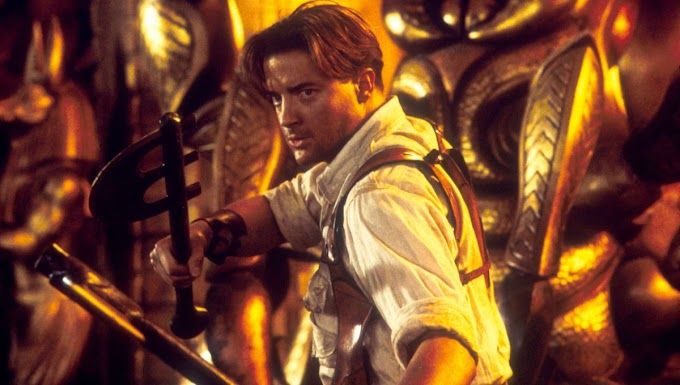 Brendan Fraser in The Mummy: The hottest action hero of the '90s