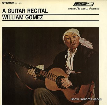 GOMEZ, WILLIAM guitar recital, a