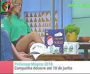 Sónia Araujo sensual no Praça