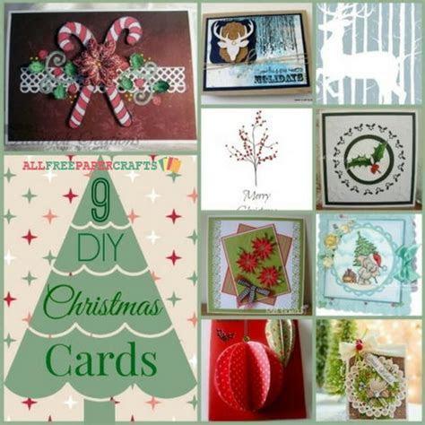 9 DIY Christmas Cards   AllFreePaperCrafts.com