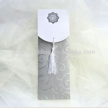Silver Color Big Size Kerala Wedding Cards,Wedding Cards