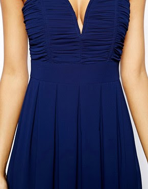 Image 3 ofTFNC Dress With Plunge Bustier