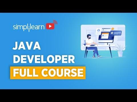Java Developer Course 2021 | Java Developer Tutorial For Beginners | Java Programming | Simplilearn