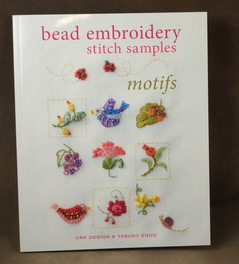 s38786 Book -  Bead Embroidery Stitch Samples: Motifs - by CRK Design and Yasuko Endo
