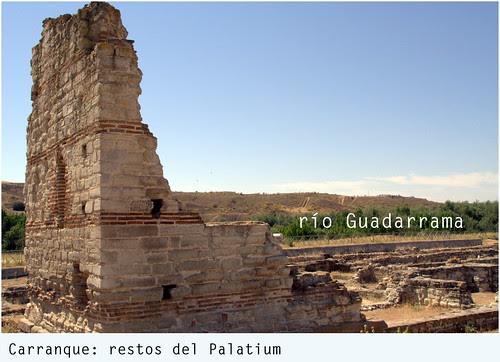 carranque: restos del Palatium