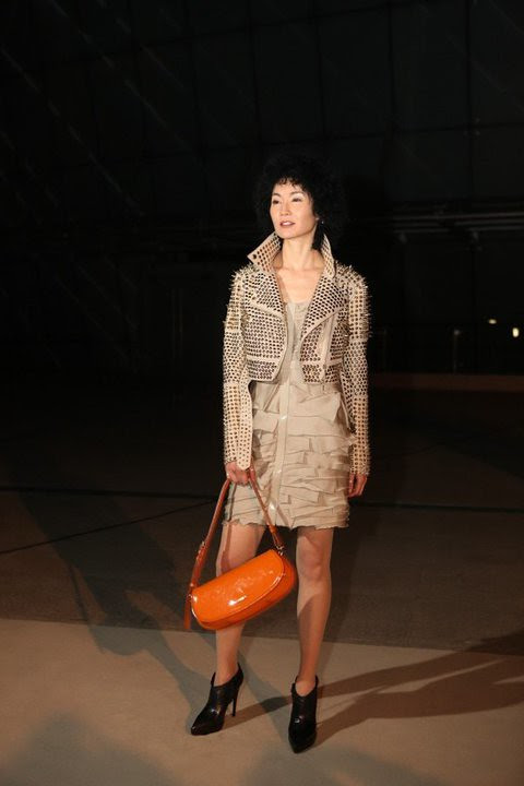 01 Chinese actress Maggie Cheung wearing Burberry