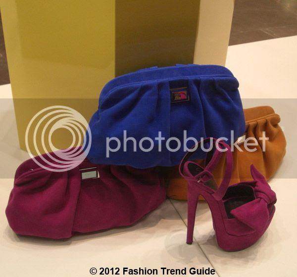 Giuseppe Zanotti color block accessories, Las Vegas shopping