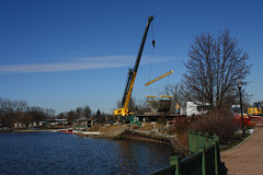 Work on Dam 2