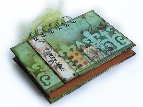 Notesior zielony