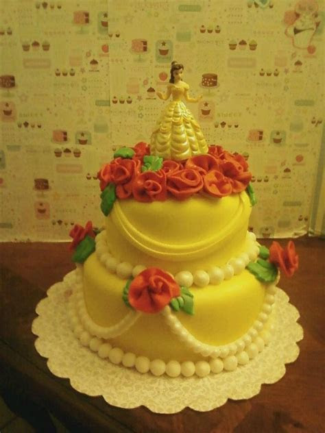 1000  images about Disney's Beauty and the Beast Cakes on