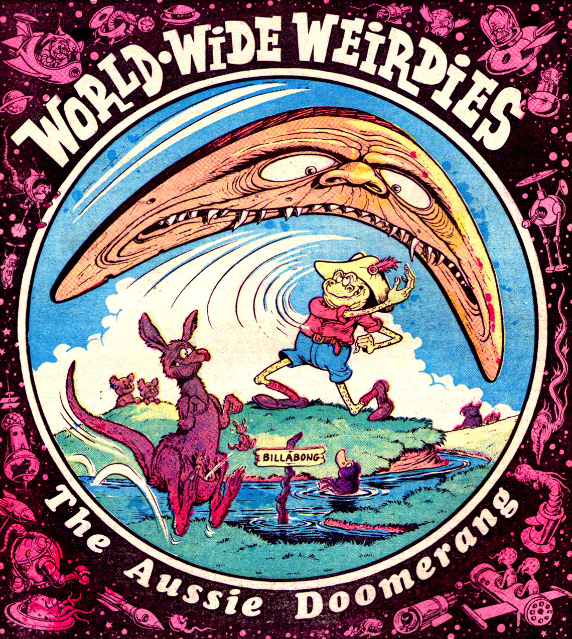 Ken Reid - World Wide Weirdies 16