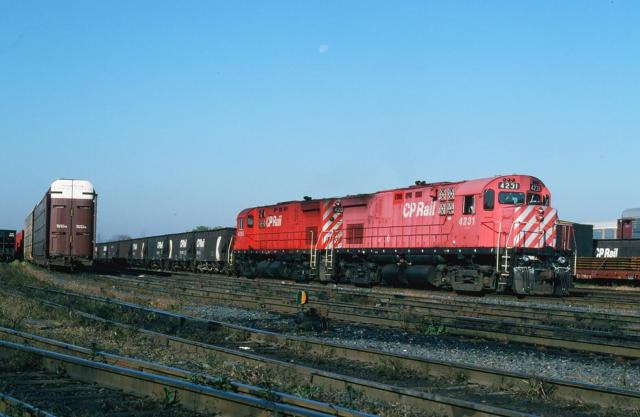 CP 4231. Photo by Glenn Cunningham