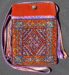 celtic carpet bag in sun