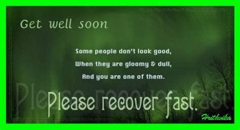 Please Recover Fast. Free Get Well Soon eCards, Greeting