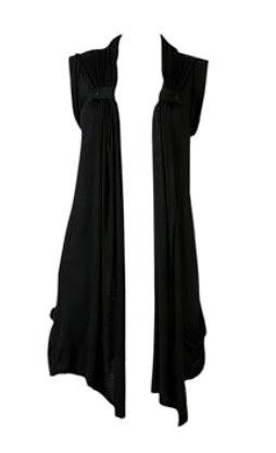 05 May - Black Sleeveless Cardi