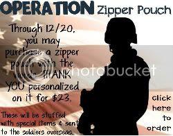 Operation Zipper Pouch