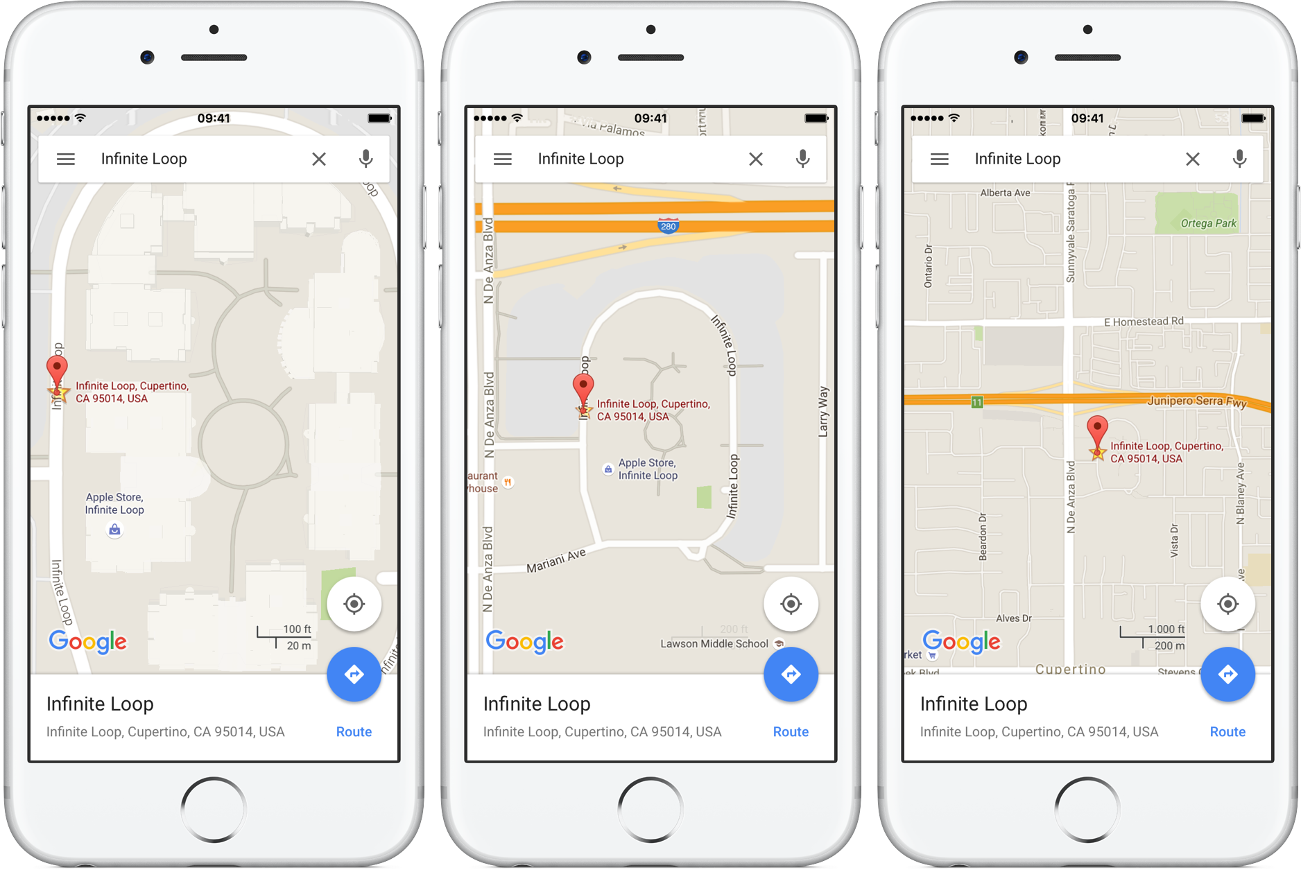 How To Use One Handed Zoom On Google Maps