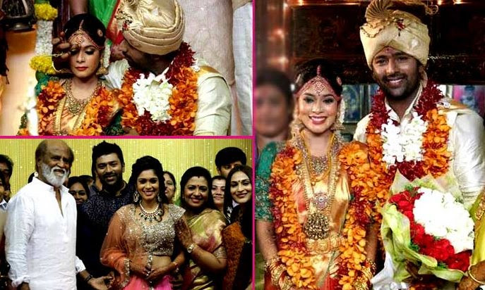 Shanthanu Bhagyaraj married VJ Keerthi