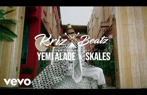 Download or Watch(Official Video) Krizbeatz ft Skales & Yemi alade – Riddim