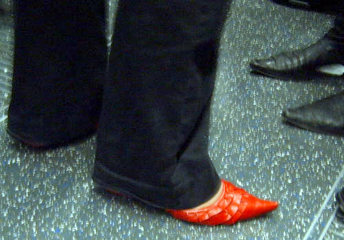 F**k Me Red Shoes