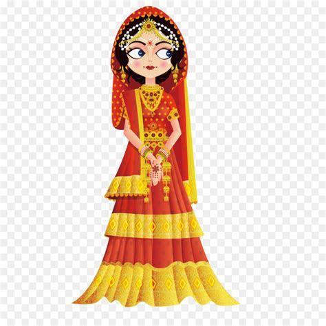 Weddings in India Wedding invitation Bride Clip art